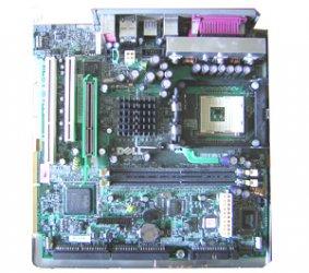 Mainboard für Dell Optiplex GX260 GX 260 00T606 0T606 02X378 2X378 478 + Blende
