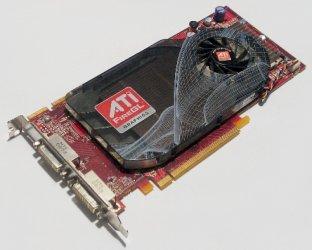 ATI FireGL V5600 102B1010200 Grafikkarte Dual DVI 512MB DDR4 PCIe x16 128-bit