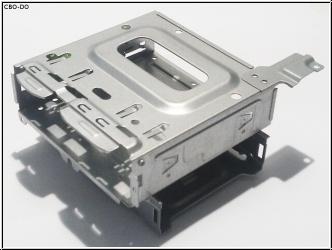 Acer Veriton X480G X275 X4610G Hard Drive CD DVD ROM Bracket Laufwerkhalterung