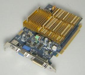 Foxconn FV-N76SM2DT 256MB Nvidia GeForce 7600GS DVI VGA HDTV Silent PCIe OVP NEU