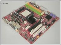 MSI MS-7304 MS 7304 Rev 1.1 mATX Motherboard socket AM2 PCIe PCI DVI SPDIF RAID