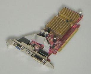 MSI MS-V027 V027 NX7100GS-TD256E 256MB Grafikkarte GeForce 7100GS PCIe DVI VGA