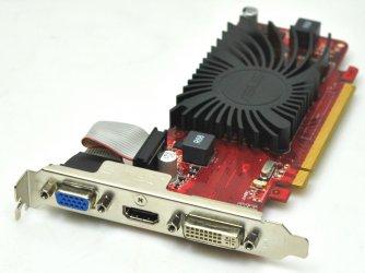 Asus EAH5450 SILENT/DI/1GD3(LP) 1GB Grafikkarte Radeon HD 5450 PCIe HDMI DVI
