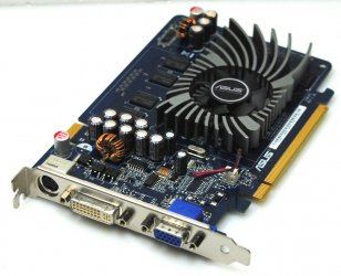 Asus EN7300GT/HTD/512M/A 512MB Grafikkarte GeForce 7300GT PCIe DVI TV-Out VGA