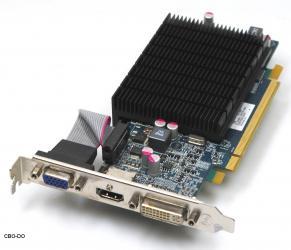 HIS H555HS1G 1GB Grafikkarte Grafik ATI Radeon HD 5550 Silence PCIe HDMI DVI VGA