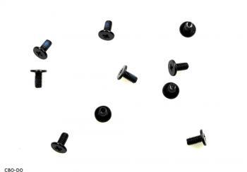 10 Stück Schrauben Toshiba H000030530 M2.5 5.0MM 2x5,2 mm SATELLITE PRO L770 NEU