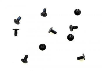 10 Stück Schrauben Toshiba H000030530 M2.5 5.0MM 2x5,2mm SATELLITE C670 L775 NEU