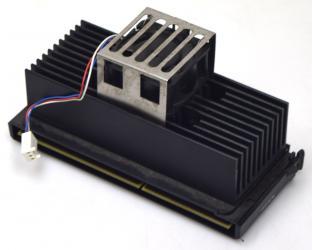 Intel Pentium 2 CPU SL2S5 333MHz 512KB 66MHz Deschutes Slot 1 +aktiver Kühler