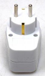 GZBK01/01 Switch 1 GZBK01 Steckdosen-Schalter Steckdosen Schalter 230V weiß NEU