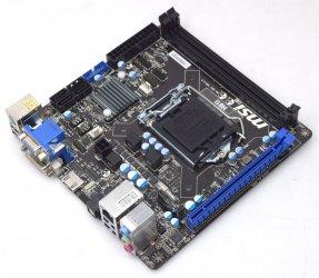 MSI MS-7851 H81I MS7851 MS 7851 mini ITX Mainboard Intel Sockel 1150 +Blende NEU