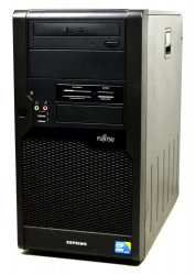 Fujitsu Esprimo P9900 0 Watt Desktop PC BTX black / i3-550 3.20GHz / 8 GB / 250 GB