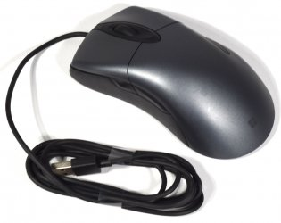Microsoft Classic IntelliMouse 1833 optical Mouse USB 5 Buttons gray black NEW