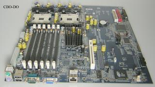 Gigabyte GA-8IPXDREL-GG Rev 1 0 8IPXDREL VGA 6x DDR Intel socket 604 EATX  Board