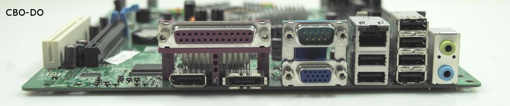 Dell 0M863N Mainboard MB BTX Sockel Intel 775 SATA PCIe VGA für Optiplex  760 SFF