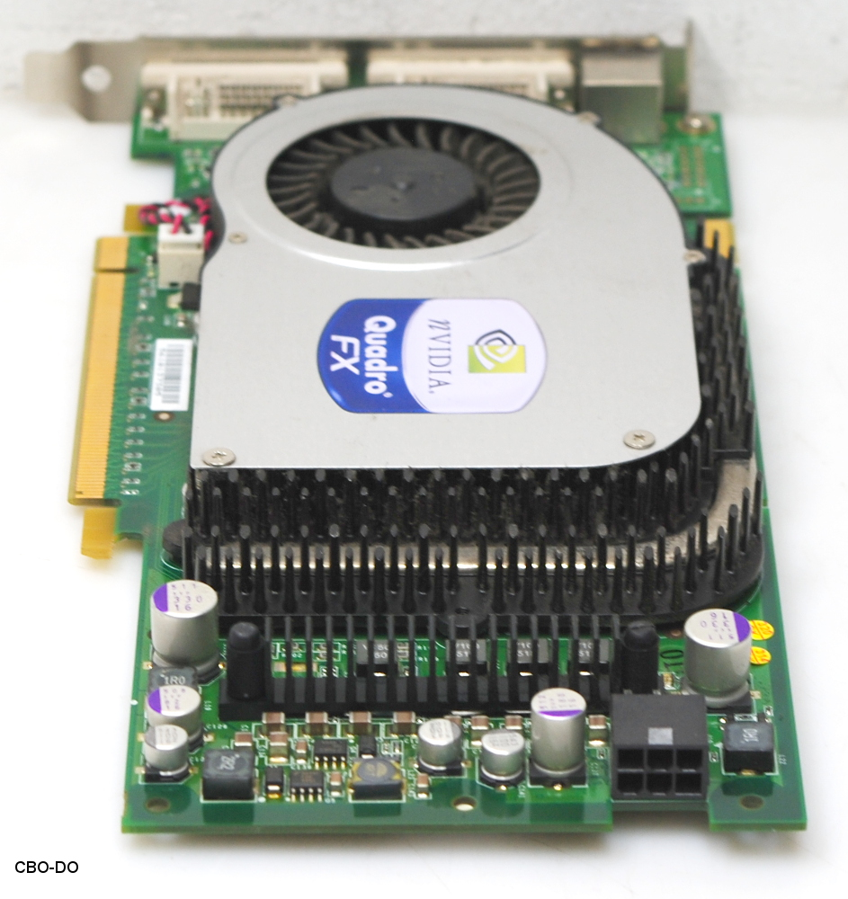 HP 365891-003 366650-001 256MB Graphic Card NVidia QuadroFX 3400 SLI PCIe  DVI 3D