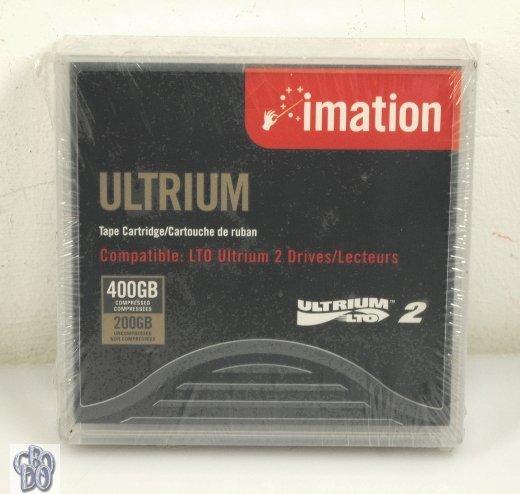 Imation 16598 Ultrium LTO2 Tape Cartridge LTO 2 200GB 400GB NEW
