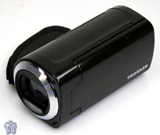 Traveler DV-5100 Digital Camera Camcorder HD 720p 5 Megapixel 4x Zoom black NEW