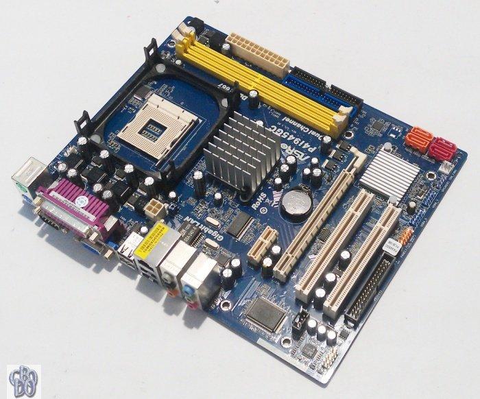 Asrock P4i945GC Realtek LAN 64x