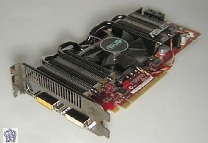 Asus Eah4870 Dk Top Htdi512md5 512mb Grafikkarte Radeon Hd 4870
