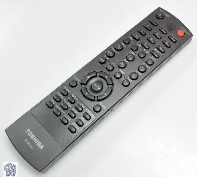 toshiba se r0376 dvd player fernbedienung original remote. Black Bedroom Furniture Sets. Home Design Ideas