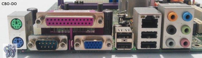 ECS 946GZT AM 775 DDR2 MATX IDE LPT COM 4x SATA 8x USB 20 FDD VGA