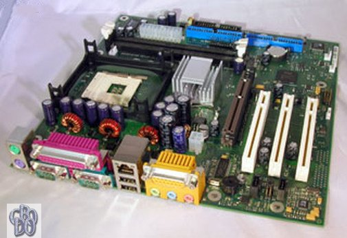 Fujitsu Siemens FSC D1331 D1331-A11 GS1 mATX Motherboard Intel Socket 478 PCI NEW