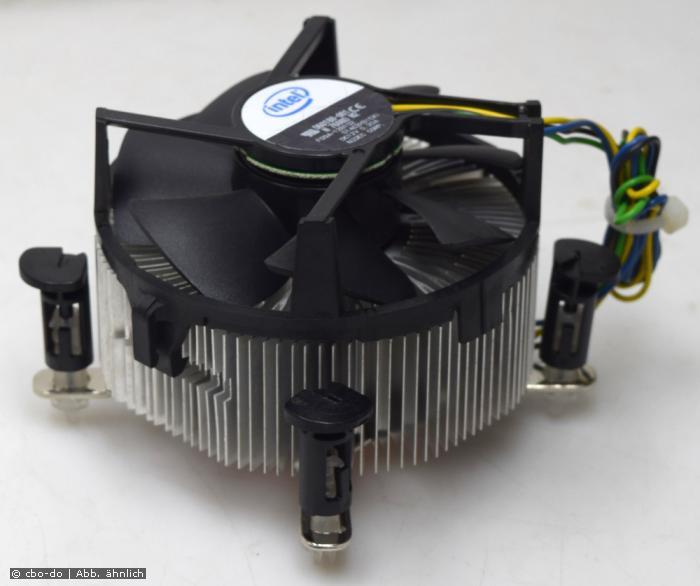 Intel D60188-001 D60188 001 CPU Kühler Intel Socket 775 80mm Lüfter Kupferkern