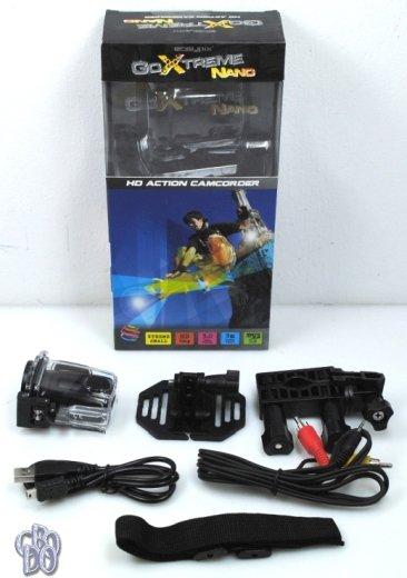Easypix GoXtreme Nano Action Camcorder Camera HD 720p 1.3MPX black NEW