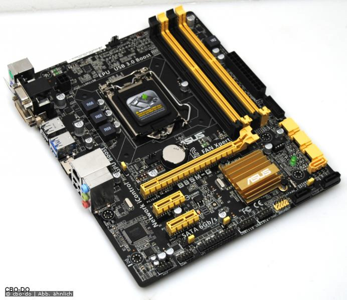 Asus B85M-G B85M G mATX Motherboard Intel Socket 1150 SATA HDMI DVI VGA USB 3.1
