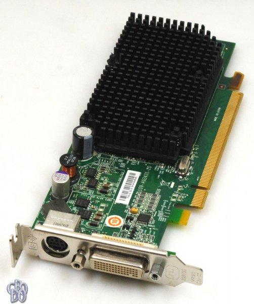 ATI Radeon X1300 PRO 0JJ461 0JN996 0KT154 0DR280 0GJ501 256MB Grafikkarte LP
