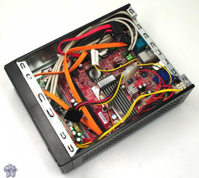 MSI Titan 700 Barebone VIA VGA Windows 7