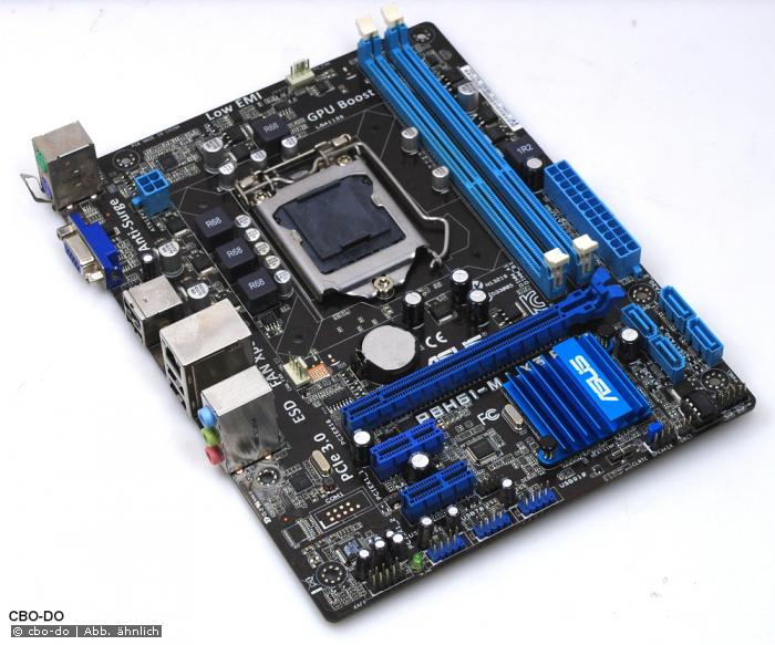 Asus P8H61-M LX3 R2 0/C/SI Motherboard 1155 Intel H61(B3) VGA mATX COM USB  P8H61 M