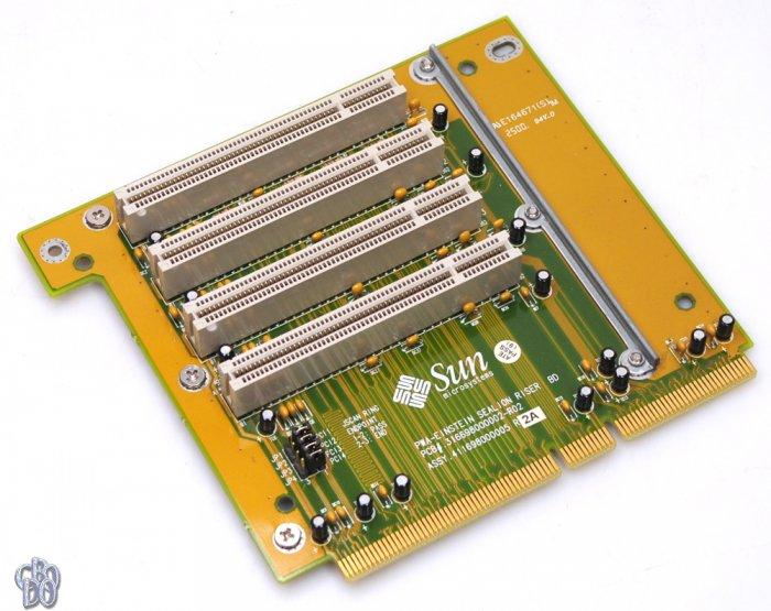 SUN PWA-EINSTEIN SEALION RISER BD 316698000002-R02 411698000005 Riser Card  PCI