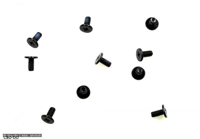 10 st ck schrauben toshiba h000030530 m2 5 5 0mm 2x5 2. Black Bedroom Furniture Sets. Home Design Ideas