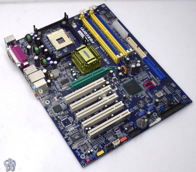 Foxconn 865A01-PE-6EKRS Intel LAN Vista