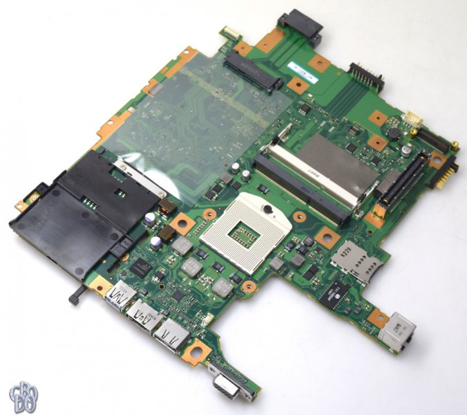 Fujitsu 38017839 CP533089-XX Notebook Motherboard Socket 989 for LifeBook E751 E781 NEW