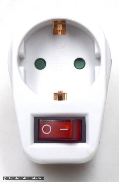 GZBK01/01 Switch 1 GZBK01 Steckdosen-Schalter Steckdosen Schalter 230V weiß NEW