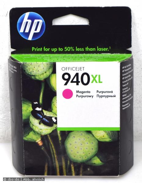 HP C4908AE 940XL Tintenpatrone Patrone magenta OfficeJet PRO 8000 8500 OVP NEW