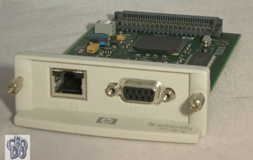 HP Jetdirect 610n J4167A J4167-60002 Token Ring Printserver RJ-45 RS232 9pol NEW