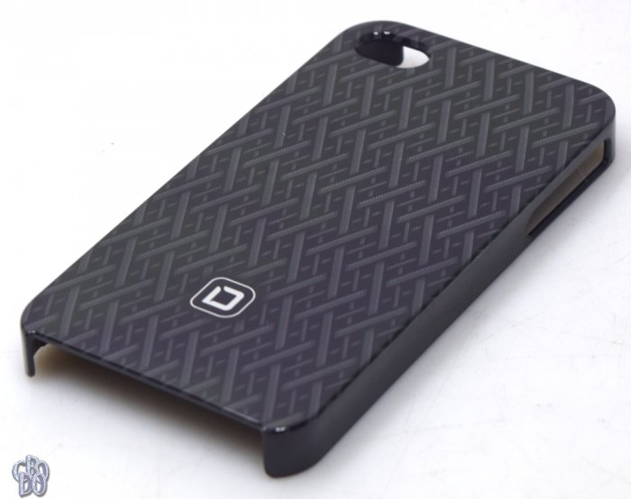 Dicota D30442 Hard Cover Hardcover Mobile Cover black Apple iPhone 4 4S NEW