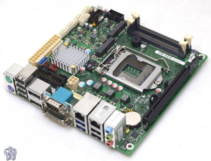 Fujitsu D3243-S12 GS3 D3243 S12 mini ITX Motherboard Intel Socket 1150 + Accessories NEW