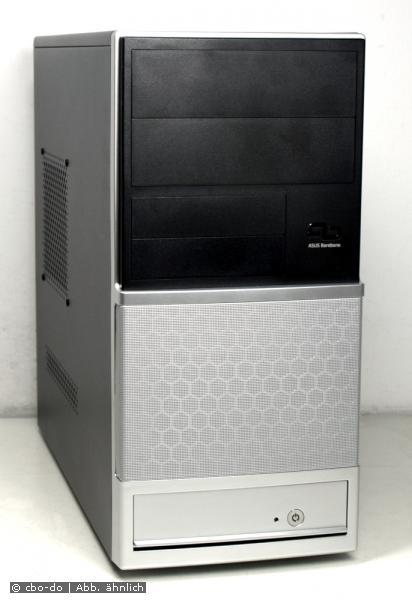 ASUS V2-AH2 Barebone Gehäuse mATX USB black/silber + 300 Watt Power Supply NEW