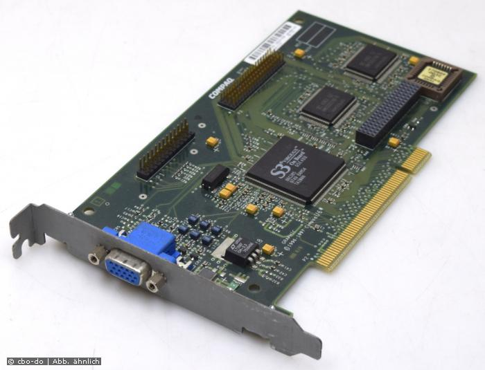 Compaq 296684-001 006914-001 2MB Graphic Card S3 Virge/GX PCI for Deskpro 4000