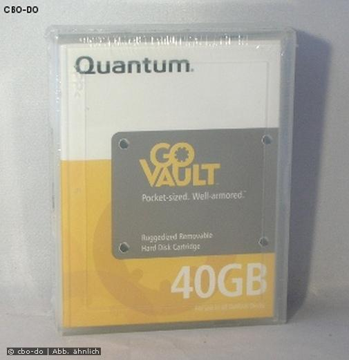 Quantum Go Vault GoVault QRM40 TH1010-011 TH1010 40 GB Tape Cartridge OVP NEW