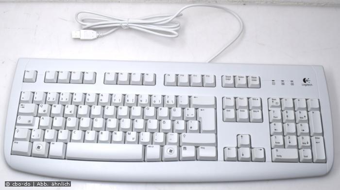 Logitech Deluxe 250 Y-UL76 820-000084 Keyboard QWERTZ DE german USB beige NEW