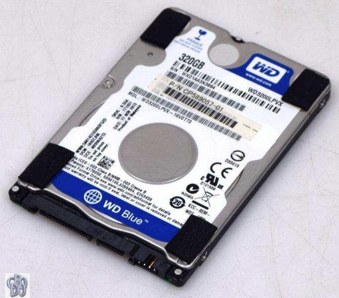 WD Blue WD3200LPVX WD3200LPVX-16V0TT0 CP589057-01 320GB SATA HDD 8MB 5400RPM NEW