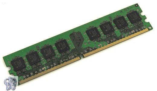 1 GB DDR2 computer memory RAM 1024 MB PC2-4200U 533 MHz 240-pin DIMM 1.8V