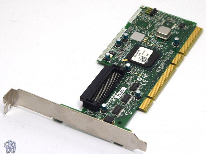 Adaptec ASC-29160i/HPQ 324710-001 317819-001 SCSI Controller PCI-X 68-pin 68p