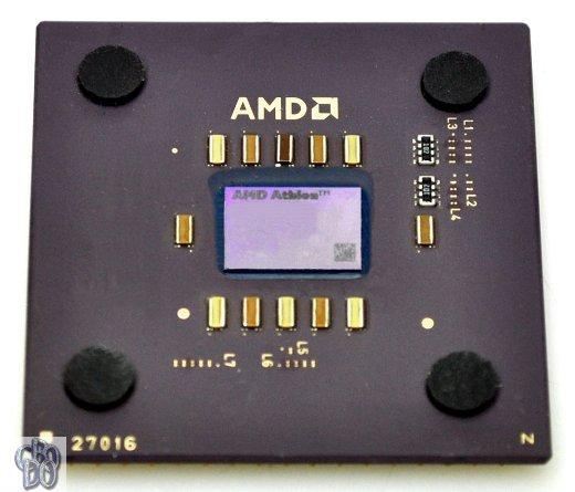 AMD Athlon 1100 A1100AMS3B 1.1GHz 1100MHz 200MHz Thunderbird Socket A 462 95°C