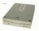 HP JU-256A436P P/N 5064-6654 grau Diskettenlaufwerk Floppy FDD NetServer LC 2000